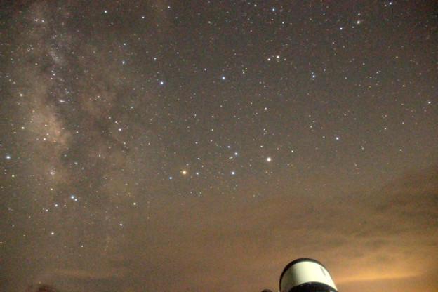 Photos: 07-とりあえずシュミカセで土星を見てもらいました