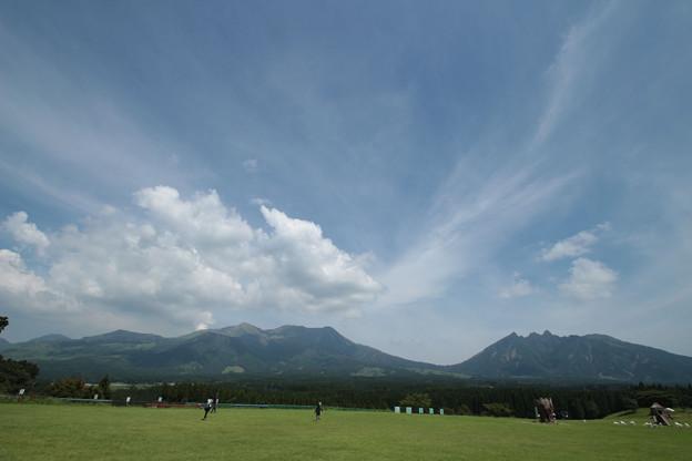 Photos: 21- 阿蘇の噴煙 高森より IMG_0619