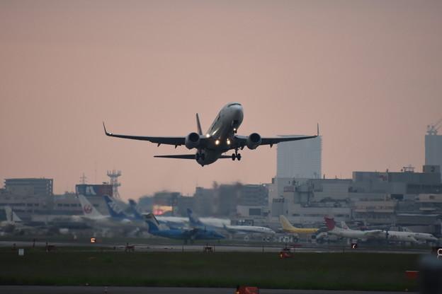 Sunset Takeoff
