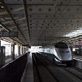 Photos: 新庄駅 ローカル線の先の山形新幹線