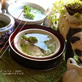 Photos: おまかせ浮き草 3種セット500円。