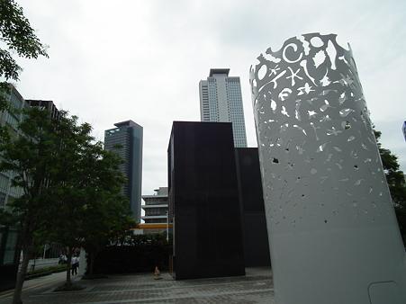 ルーセントタワーからの名古屋駅の高層ビル