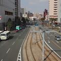市電が走る風景