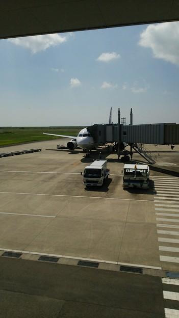 佐賀空港ついた