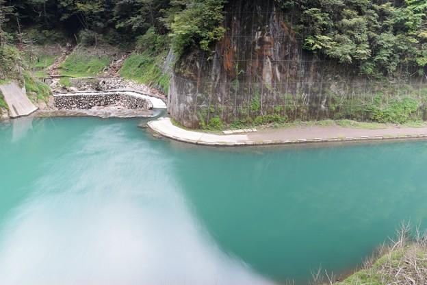 鷹岩トンネル付近