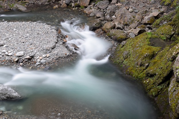滝沢ダム上流
