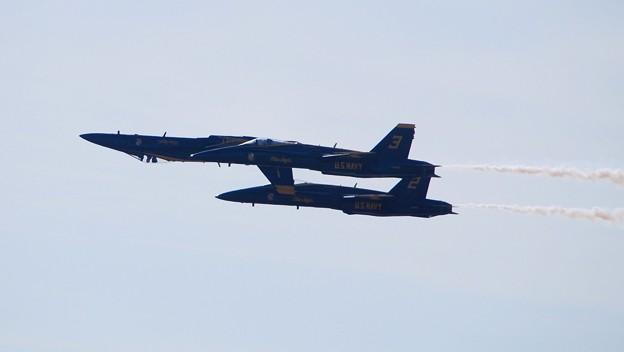 写真: Blue Angels 'Double' Farvel 9-5-15
