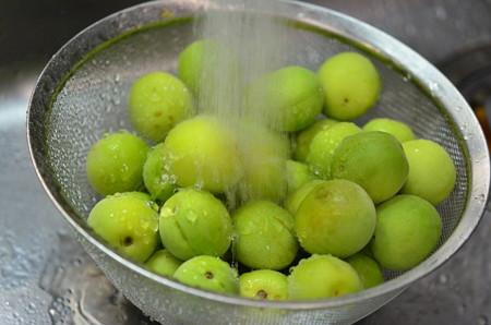 梅シロップ作り (2)