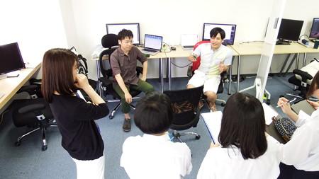 松江商業高校の生徒達に向けて「会社見学会」を開催しました