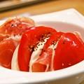 Photos: トマトとモッツァレラチーズと生ハム