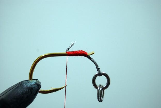 Photos: ミシン糸で巻き巻き
