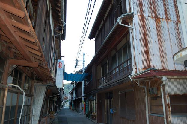 木江の古い街並み!