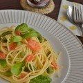 Photos: 冷凍トマト パスタランチ