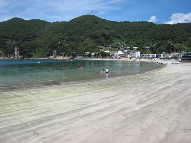 西伊豆岩地海水浴場