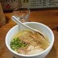 写真: 鶏の穴@豊島区 白鶏らーめんを