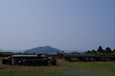 鐘崎の展望場所