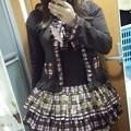 Photos: 今日のお出かけで着た服。PUTUMAYOのblooming partyのカットソーワンピと同シリーズのパーカーヽ(・∀・)ノ PUTOMAYOめったに着ないんだけど、珍しく着てみた。いい感じ(°▽°)