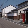 Photos: s0249_津山の出雲街道にある丸ポスト