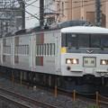 185系200番台 OM09編成(エクスプレス色) 回送