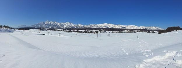 雪原のパノラマ