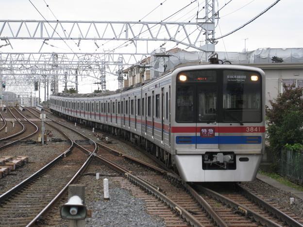 3700形特急成田空港行 高砂にて