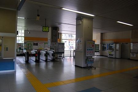 JR東日本 二俣新町駅 改札内コンコース