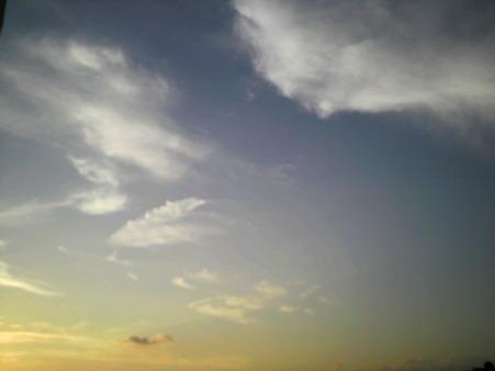 2011/9/13@夕空