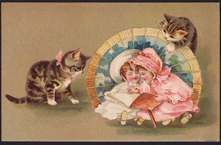 ヘレナ・マグワイア*仔猫と幼児