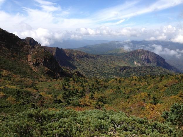 Photos: 裏岩手の山々を一望です。