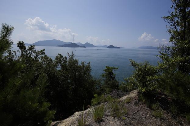 賀儀城からの景色1