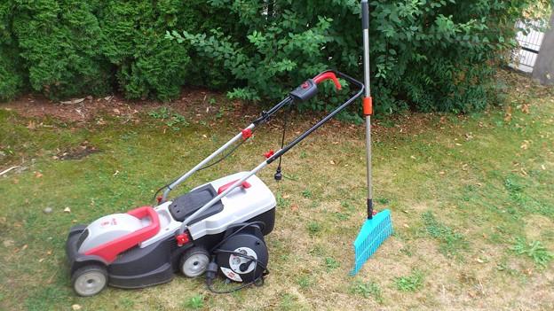 電動芝刈り機セット、無料