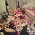 写真: 修羅場な時の部屋
