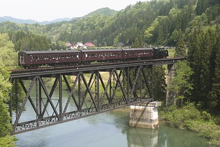 只見線 只見川第七橋梁