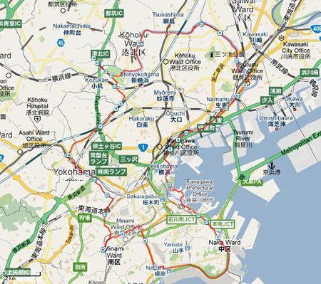 マイ アクティビティ 新横浜-鶴見 2011-06-26