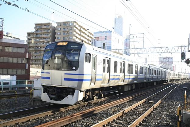 E217系@船橋駅(失敗)