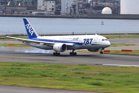 飛行機(12)-Arrivalとdeparture    羽田空港大忙し