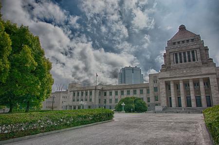 国会議事堂 左翼