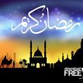 写真: ramadan-kareem-card サウジ用