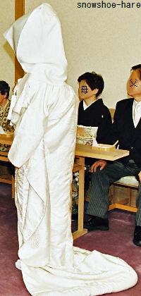 和装の花嫁衣装