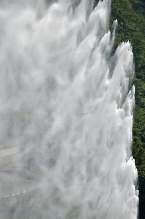 150726月山湖噴水03
