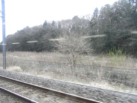 快速エアポート成田の車窓55