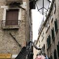 写真: ヴェネチアの街の変わった看板3
