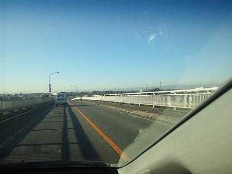 通勤途中の富士山