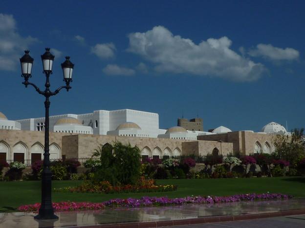 花咲くアラム宮殿 Al Alam Palace,Oman