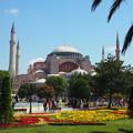 アヤソフィア View of Hagia Sophia, Istanbul