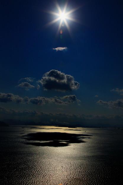 輝く太陽、煌く瀬戸の海 ☆