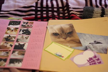 manekiuriさまからのカレンダーたち