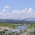 写真: 多摩川にて