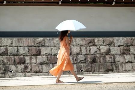 2015.08.09 円覚寺 日傘