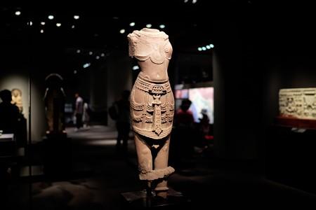 2015.08.15 東京国立博物館 男神立像 インド・カジュラーホ TC-463